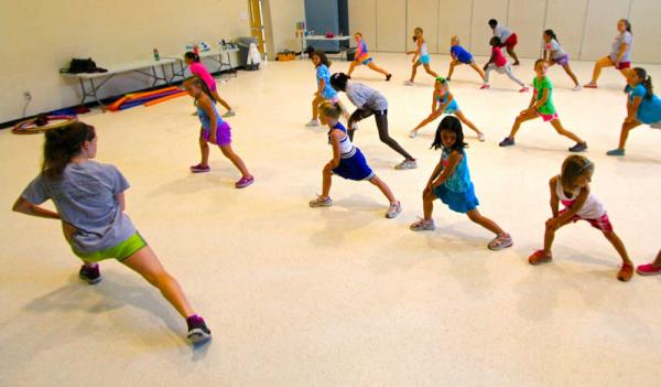 kids exercise class