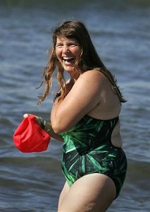 "Lynne Cox, open-water badass and author of ""Swimming to Antarctica"" (photo from OC Register)"